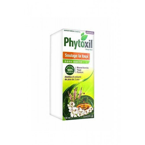 Phytoxil sol buv toux ss sucre 120ml