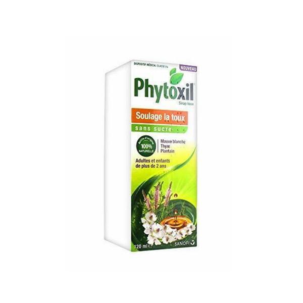 Phytoxil sol buv toux ss sucre 120ml