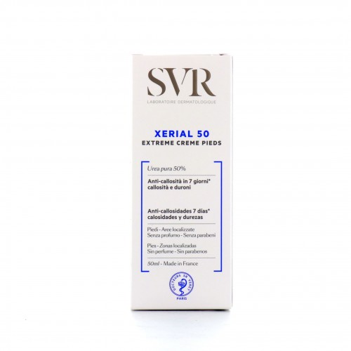 Xerial 50 extreme creme pieds 50ml, SVR