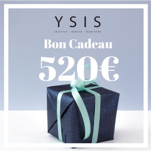 BON CADEAU 520€