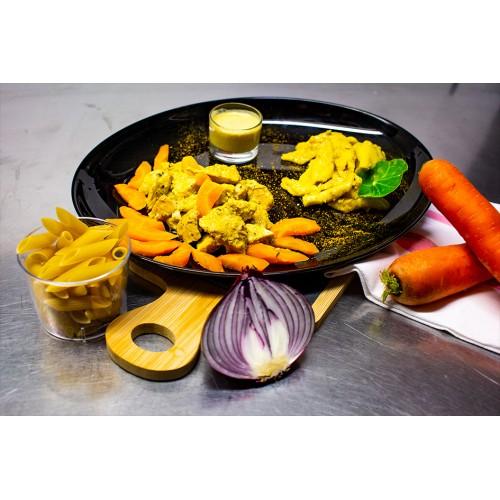 Filet de Poulet au Curry (1 pers)