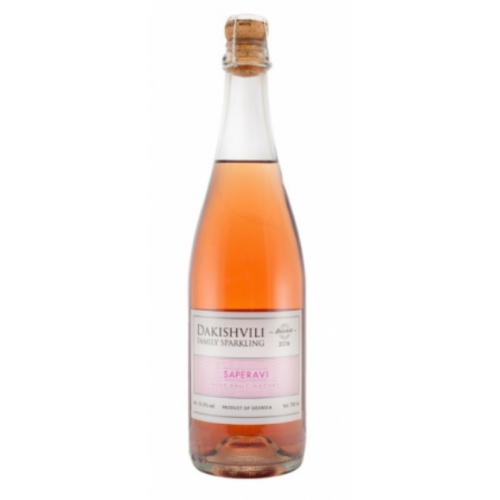 SAPERAVI Rosé 2016 - SPARKLING - Pétillant naturel