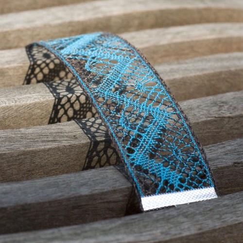 Bracelet en dentelle aux fuseaux à faire soi même
