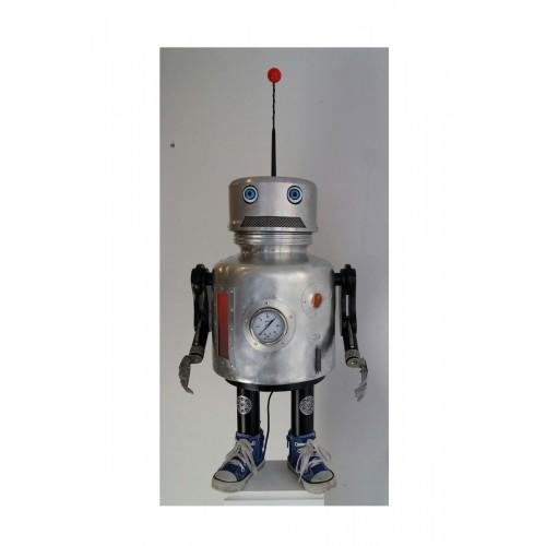 Robot H87 cm L35 cm P28 cm. Titre: matrice