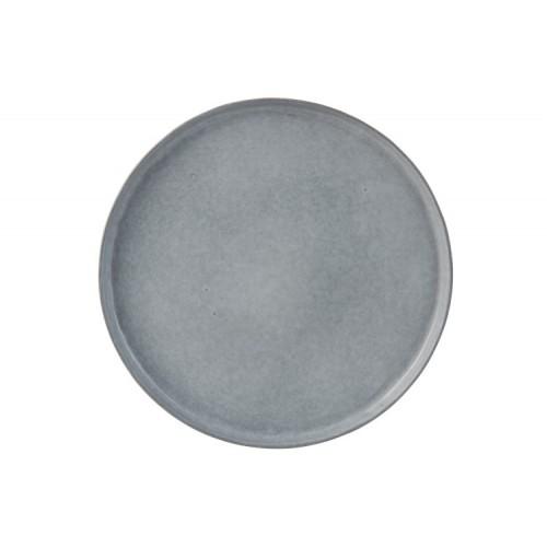 Assiette céramique bleu