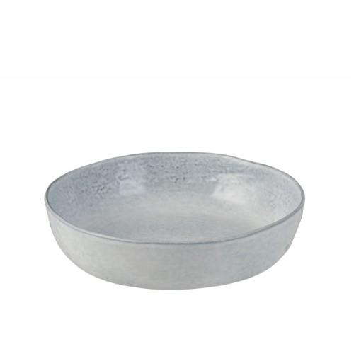 Assiette creuse céramique bleu