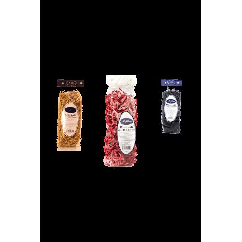 Pâtes sèches aromatisées