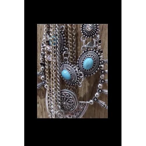 Bijoux Ethnique Turquoise