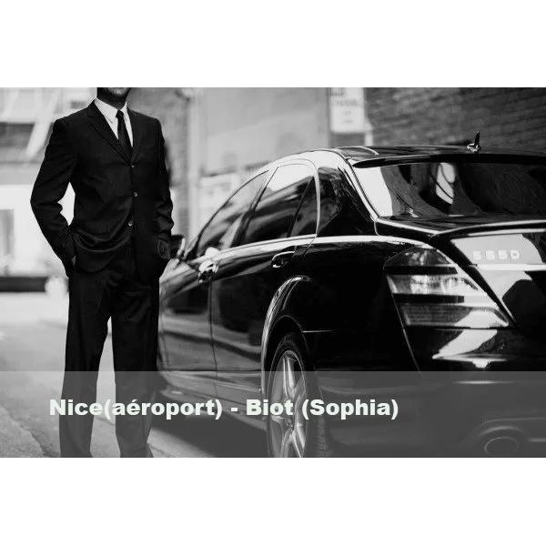 Nice (aéroport) - Biot (Sophia)