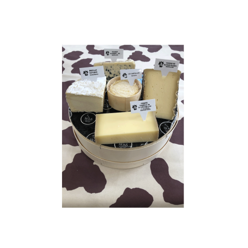 Plateau Fromages 6/8 personnes 750g environ