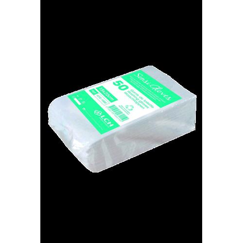 50 gants de toilette Sensi Gloves
