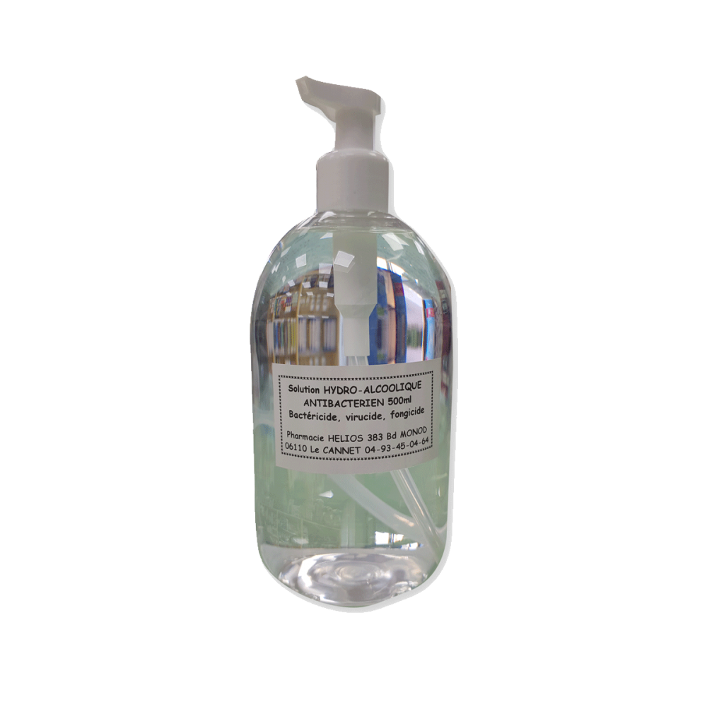 Solution Hydro alcoolique Gel - 500 ml