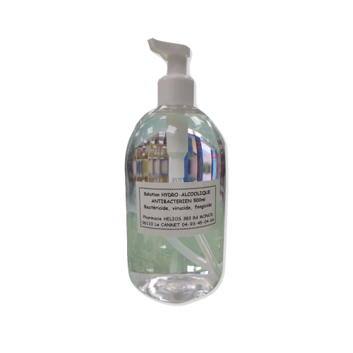 Solution Hydro alcoolique Gel - 500 ml