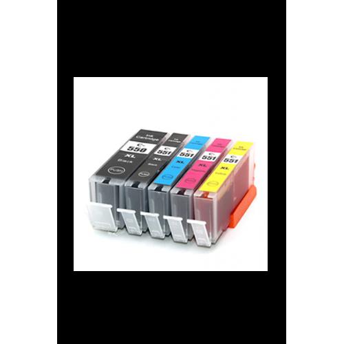 PGI 550XL/ CLI 551XL PACK BK/C/M/Y/PHBK