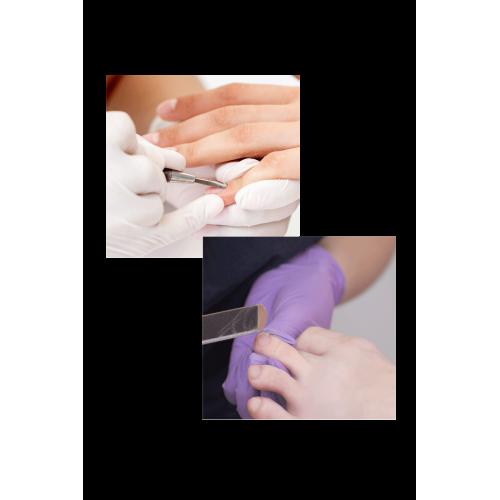 Soins des mains + soin des pied à domicile