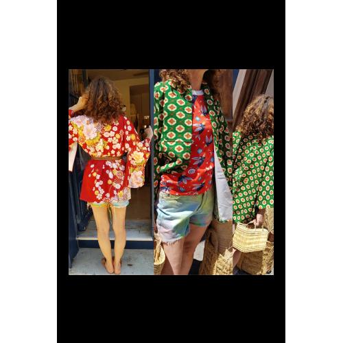 Véritable Kimono japonais collector